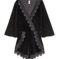 H&M Velour playsuit JD 44.900