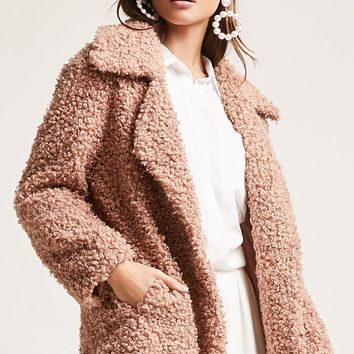 SHACI Faux Fur Coat