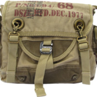 Army Courier Vintage Bike Messenger Bag - Larger Version $47.99