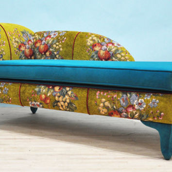 Gobelin chaise lounge