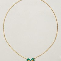 Dainty Wave Pendant Necklace by Sandy Hyun Multi One Size Necklaces