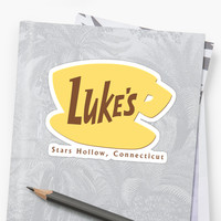 'Luke's Diner' Sticker by abandaa