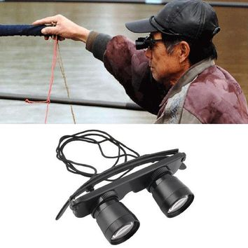 DCCKL72 3x28 Magnifier Glasses Style Outdoor Fishing Optics Binoculars Telescope free shipping