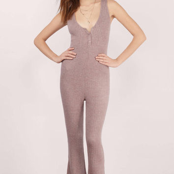 Better Days Ribbed Jumpsuit