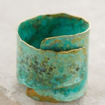 Restoration Ring by Sibilia Turquoise One Size Rings