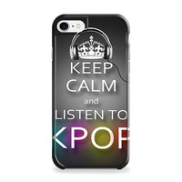 Keep Calm And Listen to Kpop iPhone 7 | iPhone 7 Plus Case