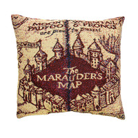 Harry Potter Marauder's Map Pillow
