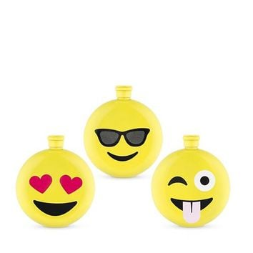 Emoji Flask By True Zoo