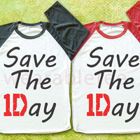 Save The Day TShirts 1D TShirts Raglan Tee Shirts Baseball Tee Unisex TShirts Women TShirts Men TShirts Rock Tee Shirts