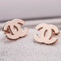 New Fasshion More Diamond Earring Women Accessories Golden