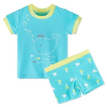 Cute 2pcs Swimsuit for Toddler 3m-6years