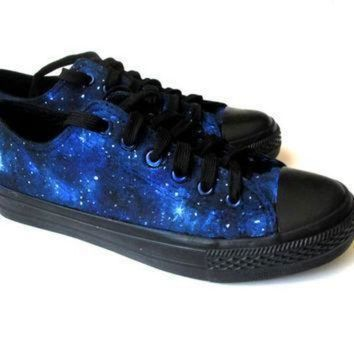 CREYON custom handpainted galaxy sneakers personalized shoes galaxy converse galaxy vans l