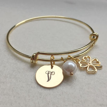 Charm Bracelet, Charm jewelry for Women fashion, Personalized Charm bracelet, Personalized jewelry for Mom, Gold Women Accessories, Women