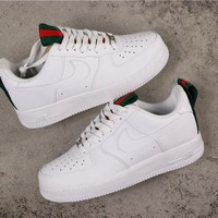 Nike Air Force 1 AF1 Low 'Gucci' White Sneakers - Best Online Sale