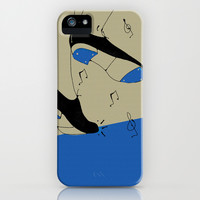 tap dancing  iPhone & iPod Case by spinL