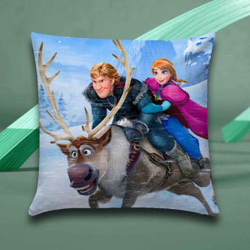 disney frozen Pillow case size 16x16, 16x24, 18x18, 20x30, 20x26