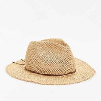 Rosin Straw Wide Brim Fedora