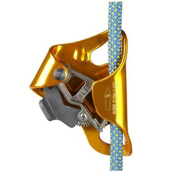 DCCKL72 Chest Type Sessile Ascender, Outdoor Climbing Rope Protection Equipment Aerial Downhill Mountaineering Lifting