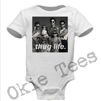 Full House Thug Life - 14 COLOR OPTIONS - Baby Onesuit - Creeper