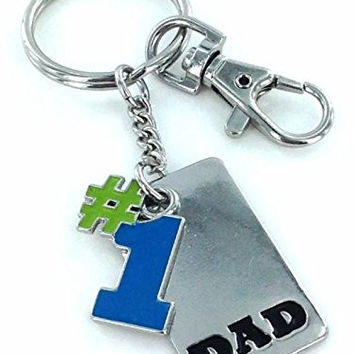 Best Dad Keychain