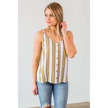 In The Spotlight Striped Top- 2 Options