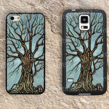 Tree case big Branch  iphone 4 4s iphone  5 5s iphone 5c case samsung galaxy s3 s4 case s5 galaxy note2 note3 case cover skin 142