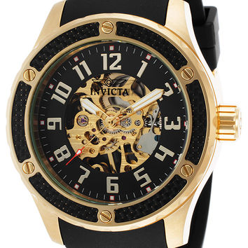 Invicta Men's 16279 Specialty Mechanical 3 Hand Black Dial Watch
