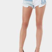 Special Patch Denim Shorts