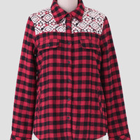Farm Cottage Plaid Jacket