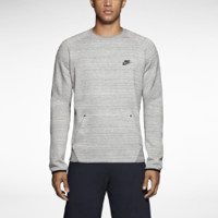 Nike Tech Crew Men's Sweatshirt - Dark Grey Heather