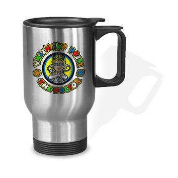 Valentino Rossi The Doctor Logo Stainless Mug