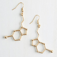Quirky Neurotransmit Your Love Earrings by ModCloth