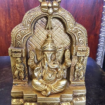 """Ganesh Statue Ganesha Temple Hindu Elephant God of Success - Remover of Obstacles 5"""""""