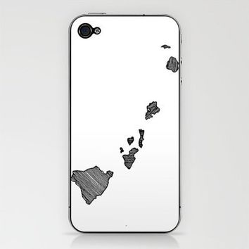 Hawaii Lines iPhone & iPod Skin by Romi Vega | Society6