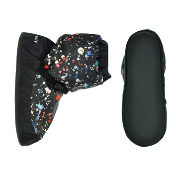 Paint Splatter Design Warm Up Booties. - Dancing in the Street