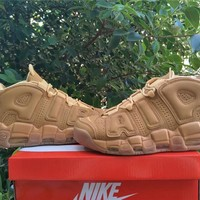 "Air More Uptempo ""Wheat"" Sneaker Shoe 40-47"