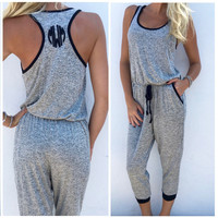 Women Sports Jumpsuit