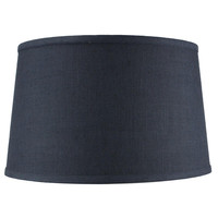 0-004948>Shallow Drum Hard Back Textured Slate Blue