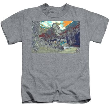 Swiss Alps - Kids T-Shirt
