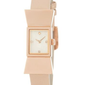kate spade new york | women's carlyle leather watch