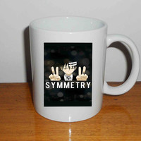 "its all about the symmetry death the kid soul eater - Mug, Quote Mug, Beyonce Mug, Ceramic Mug, typography, Beyonce Quote, Cup Mug ""NP"""