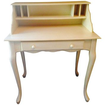 Pre-owned Pottery Barn Antique White Desk
