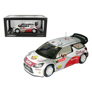 Citroen DS3 #7 WRC Rally Portugal 2012 Al-Attiyah - Bernacchini 1-18 Diecast Car Model by Norev