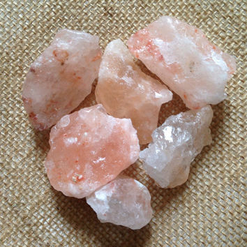 Raw Himalayan Salt Crystal Salt Raw Stone Healing Crystals and Stones Himalayan Salt Rock Crystal Raw Crystal