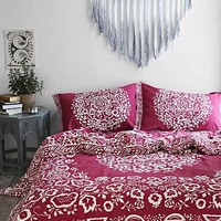 Plum & Bow Mina Flower Duvet Cover