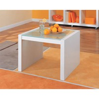 Organize It All 39411 Coffee Table with Glass Top