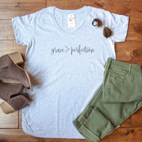 Grace > Perfection Ladies Maternity Shirt