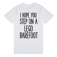 STEP ON A LEGO BAREFOOT