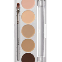 HD Micro Foundation Cache Palette 5 Colors | Kryolan - Professional Make-up