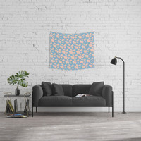 Paper Pigs (Patterns Please Series #3) Wall Tapestry by lalainelim